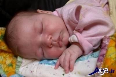 علل بی خوابی نوزاد