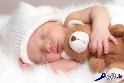 دلیل بی خوابی نوزادان