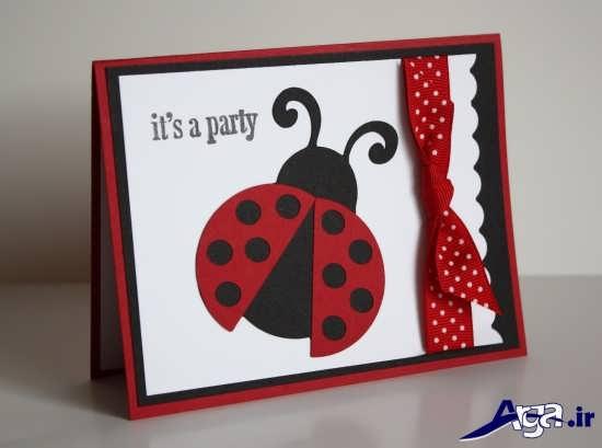 انواع کارتهای دعوت تولد زیبا