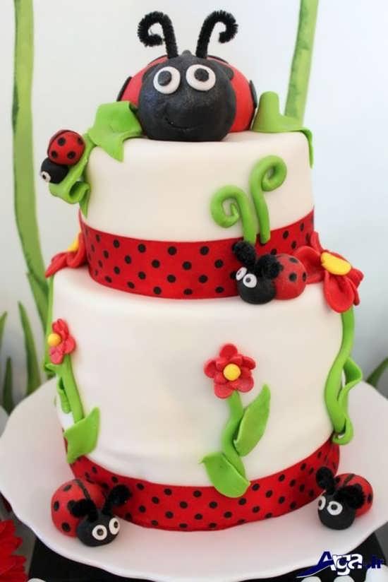 دنیای متفاوت کیک و شیرینی با تم تولد کفشدوزک