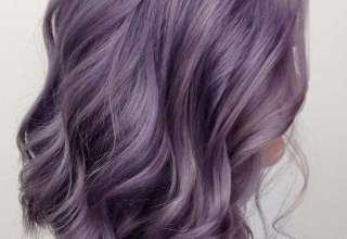 فرمول ترکیبی رنگ موی یاسی
