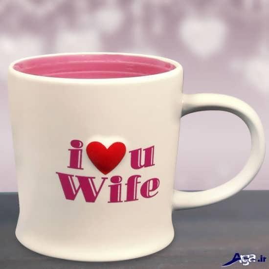 تصویر زیبا دوستت دارم برای همسر