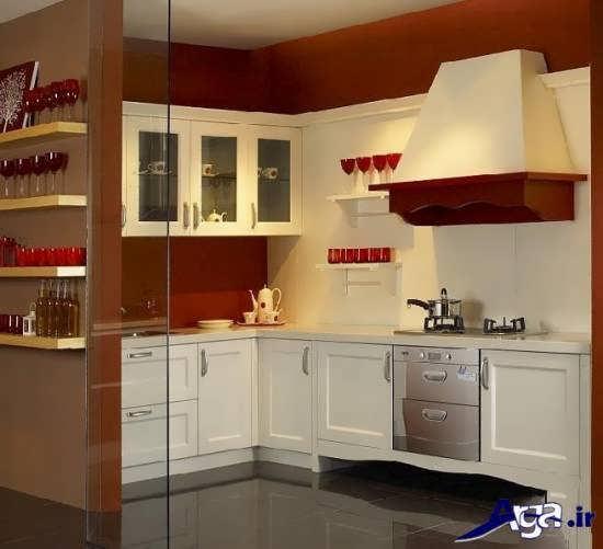 مدل کابینت آشپزخانه کوچک با چند طراحی بسیار زیبا و شیک
