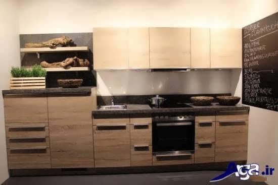 مدل کابینت ام دی اف برای آشپزخانه کوچک