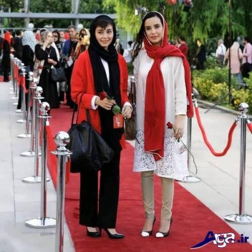 مدل بستن شال بازگیران زن ایرانی