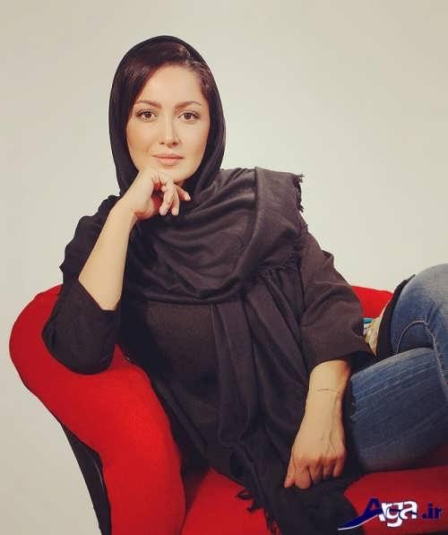 مدل بستن شال بازیگران ایرانی مشهور