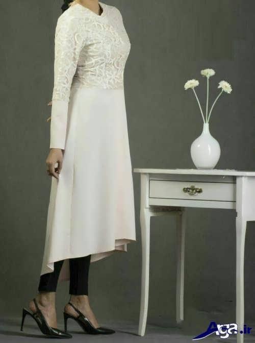 مدل مانتو کار شده پرنسسی