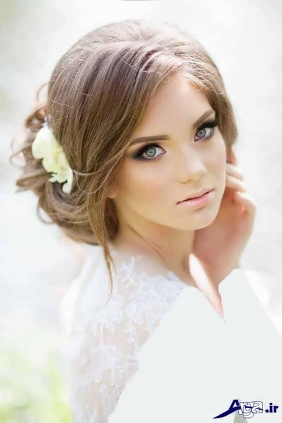 مدل گریم زیبا و متفاوت عروس
