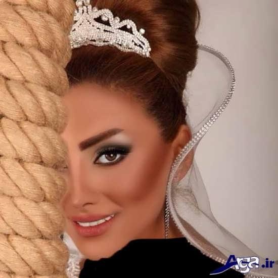 مدل زیبا و شیک گریم عروس
