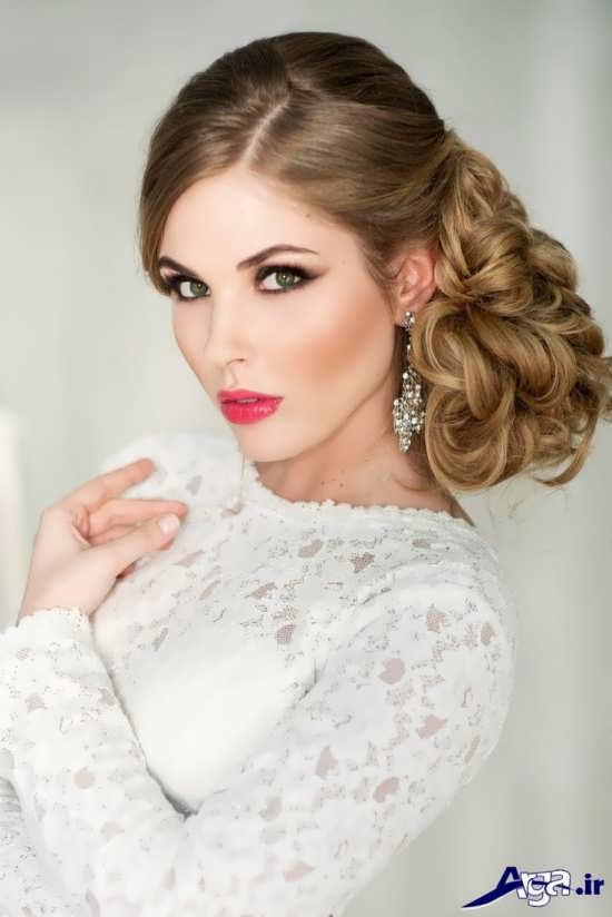مدل گریم عروس شیک و حرفه ای