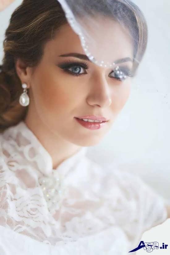 مدل گریم شیک و متفاوت عروس