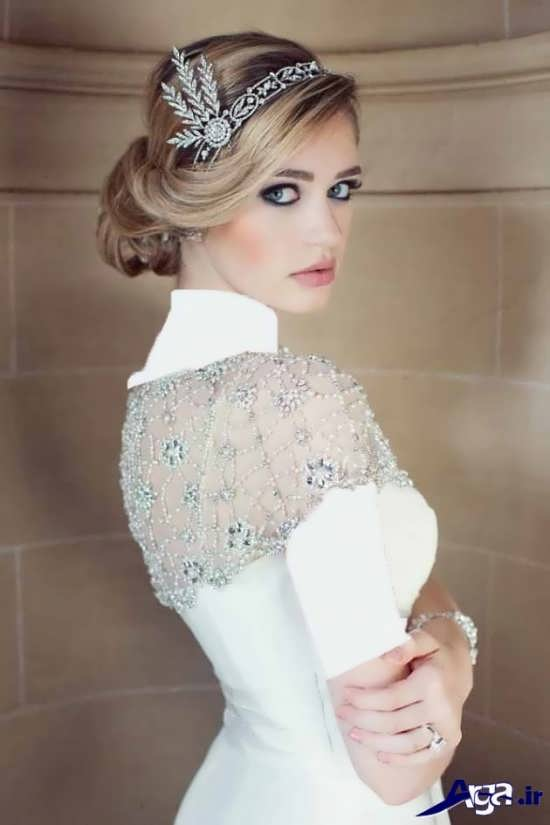 مدل آرایش صورت زیبا عروس