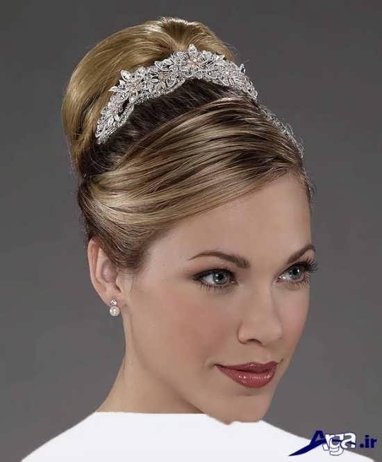 مدل آرایش صورت عروس شیک و متفاوت