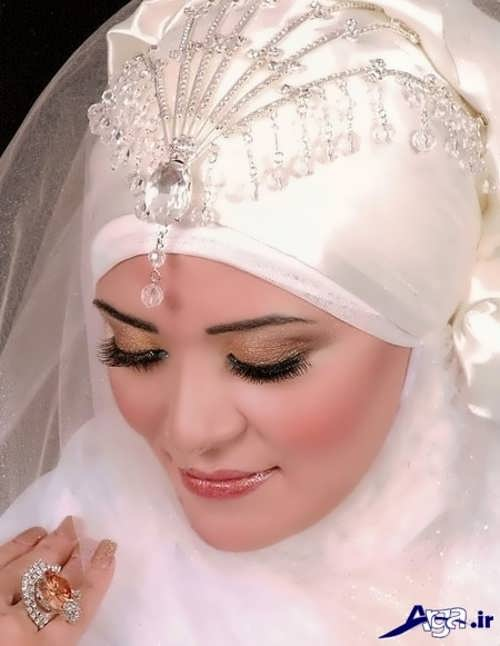 مدل حجاب عروس زیبا