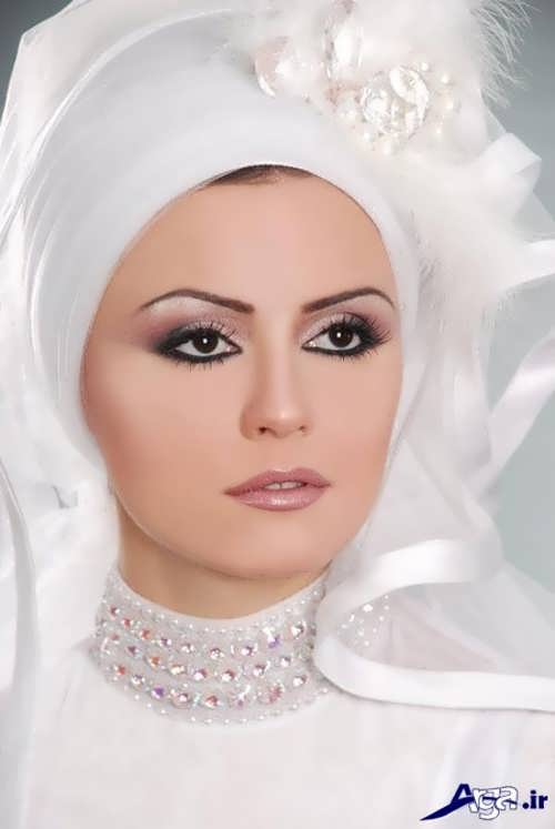 مدل حجاب عروس جدید و زیبا برای انواع طرح های لباس عروس
