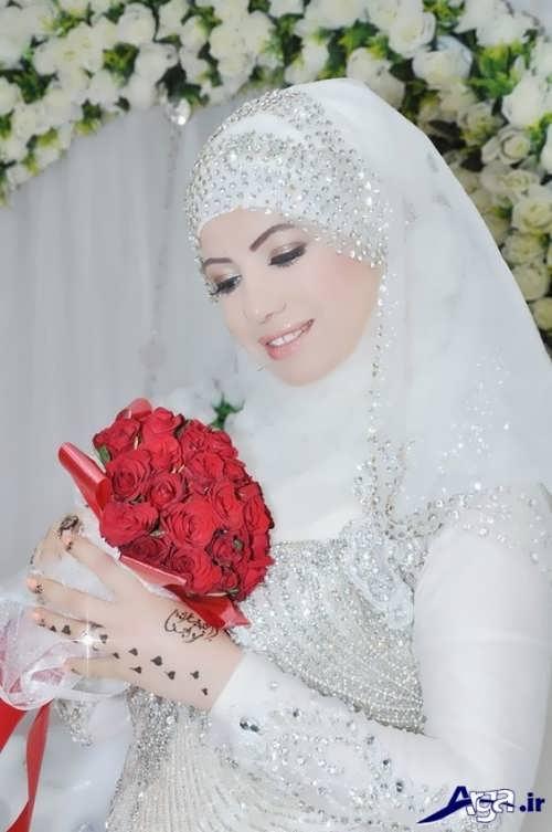 مدل حجاب شیک عروس