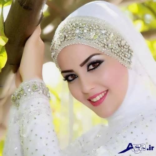 مدل حجاب جذاب عروس