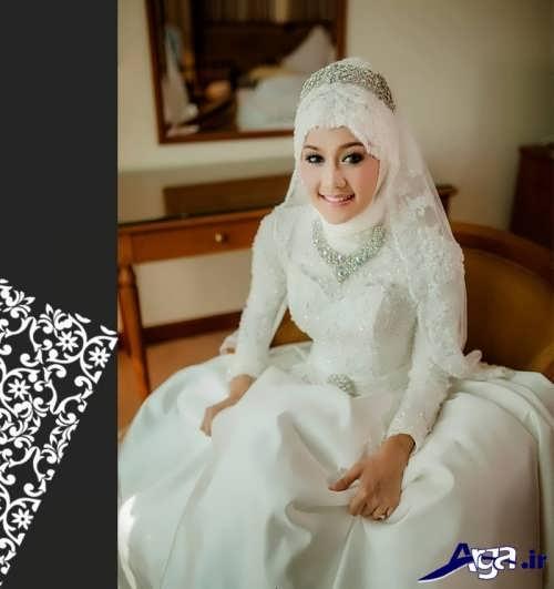 مدل شیک حجاب عروس
