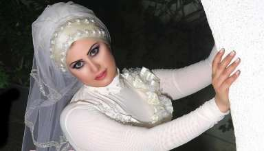 مدل حجاب عروس شیک و زیبا