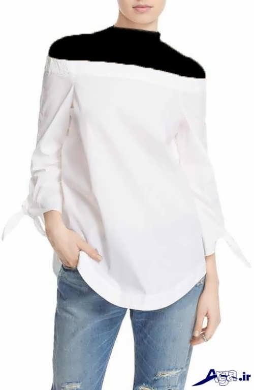 مدل بلوز نخی گلدار و ساده با طرح های زنانه و دخترانه