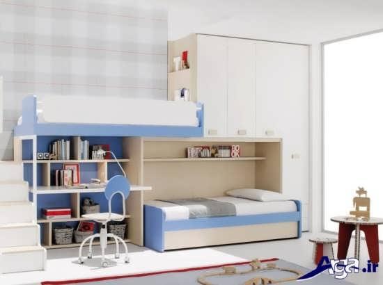 مدل تخت خواب دوطبقه کودک