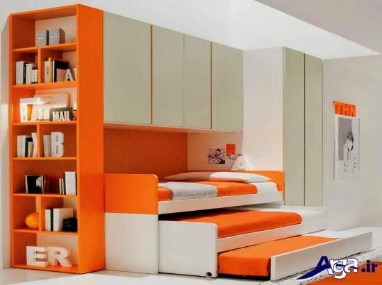 مدل سه طبقه تخت خواب کودک