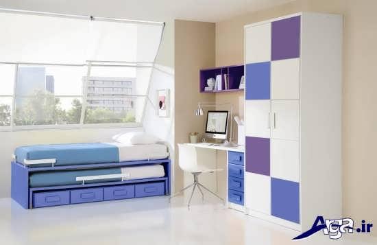 طراحی جدید تخت خواب دوطبقه کودکان