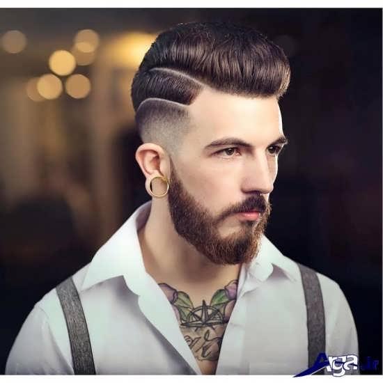 سبک جدید از مدل موی مردانه