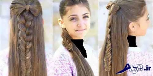 مدل موی شیک و زیبا دخترانه