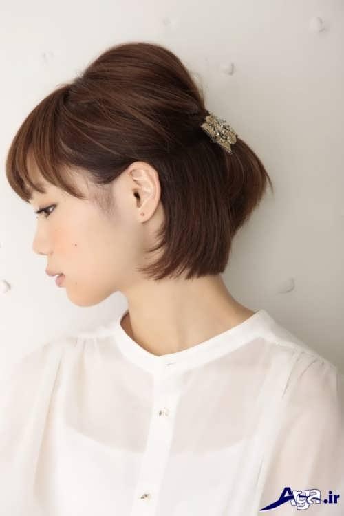 مدل موی جذاب و زیبا دخترانه
