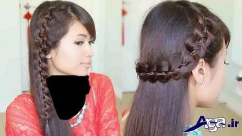 مدل موی شیک و متفاوت دخترانه
