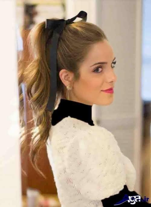 مدل موی ساده و شیک دخترانه