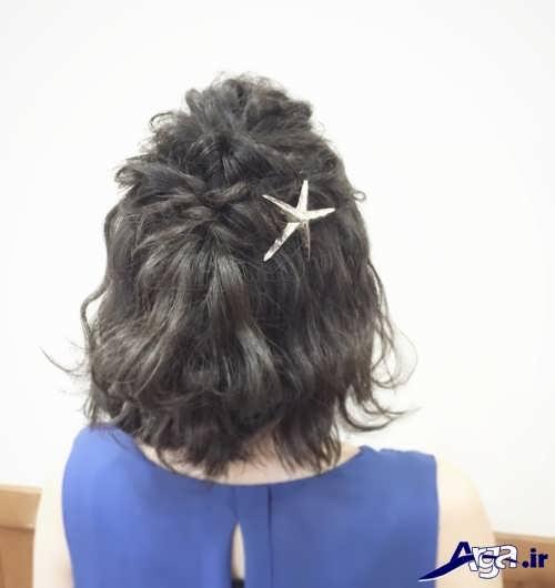 مدل موی شیک و مجلسی باز دخترانه