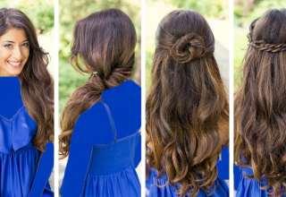 مدل موی باز ساده زنانه و دخترانه