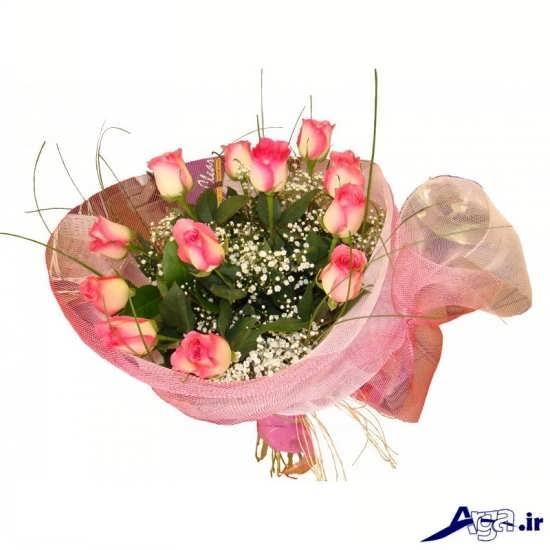 انواع گل رز صورتی و قرمز