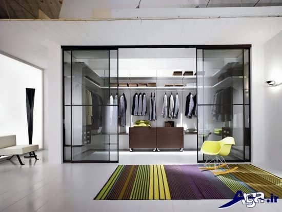 انواع طرح شیشه کمد دیواری