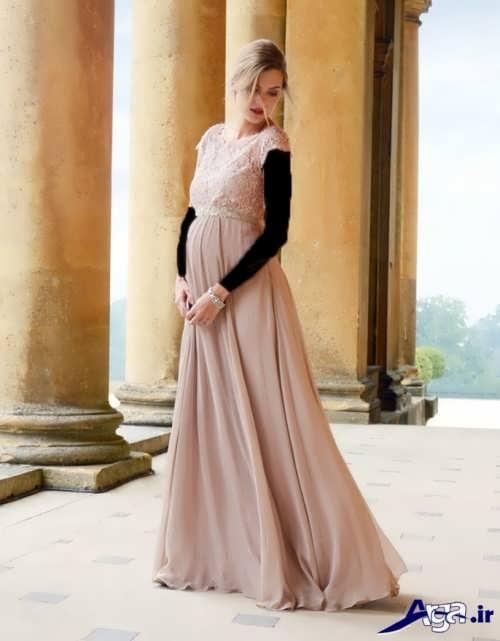 مدل لباس بلند حریر