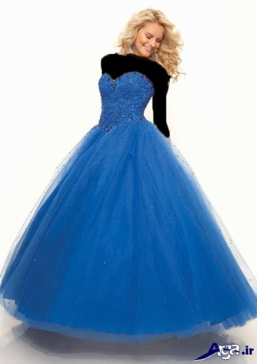 مدل لباس پرنسسی دکلته