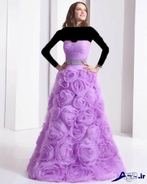 مدل لباس پرنسسی شیک و جذاب