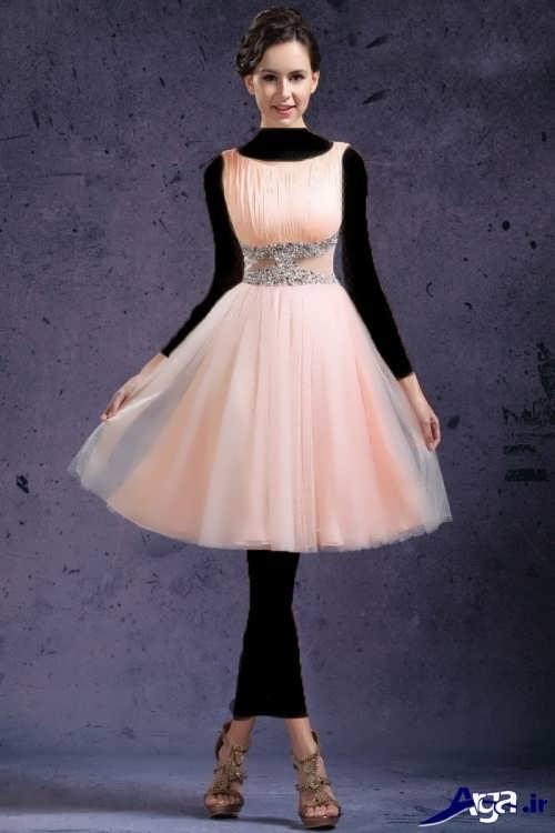 مدل لباس پرنسسی کوتاه و جذاب