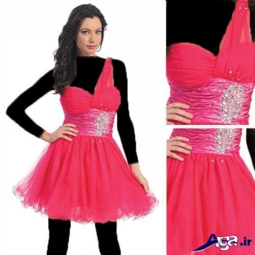 لباس نامزدی کار شده پرنسسی