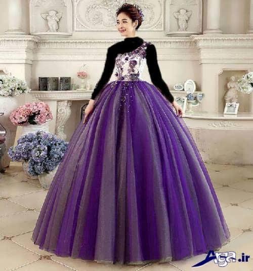 مدل زیبا و شیک لباس پرنسسی نامزدی