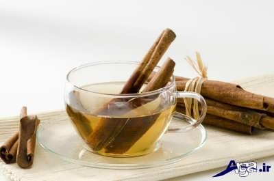 مهم ترین خاصیت چای سبز با دارچین
