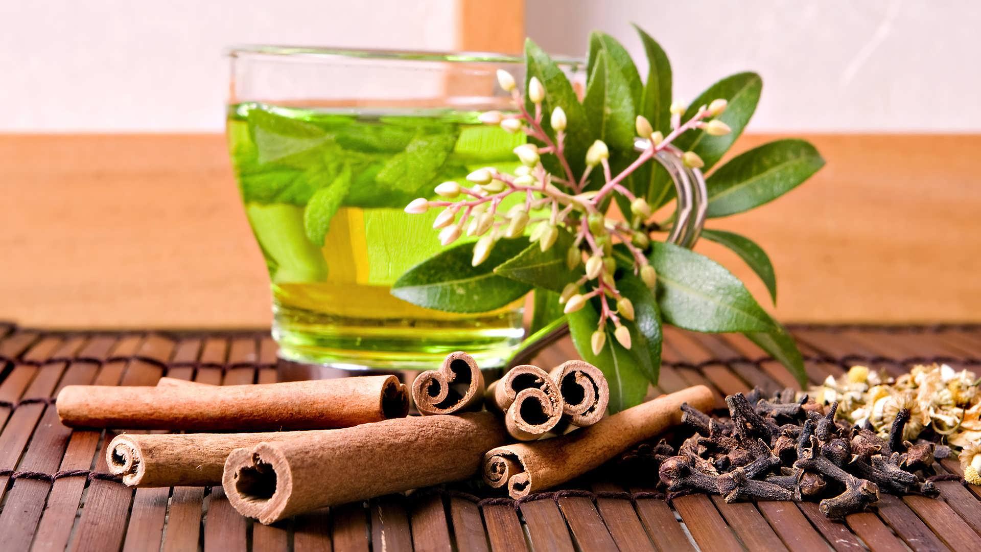 دمنوش دارچین و چای سبز مناسب لاغری