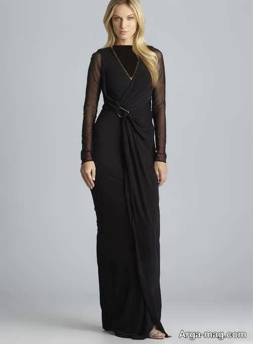 مدل لباس شب ریون مجلسی