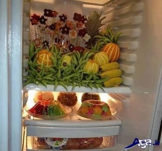 مواد خوراکی تزیین شده برای عروس