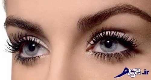 مدل آرایش چشم برای صورت گرد