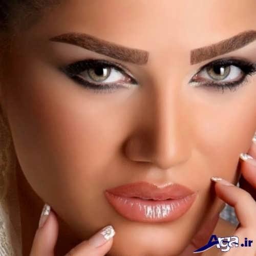 آموزش آرایش صورت گرد
