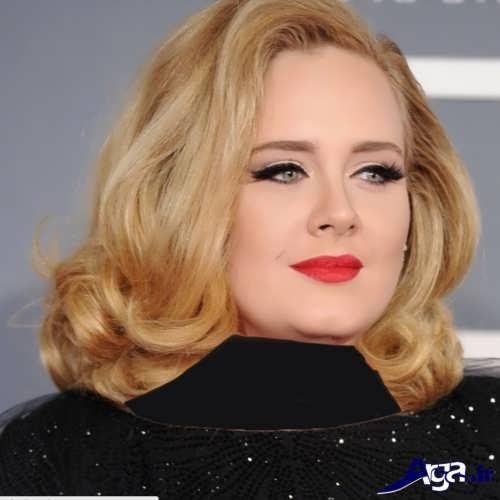 مدل آرایش صورت مناسب برای خانم ها با صورت گرد