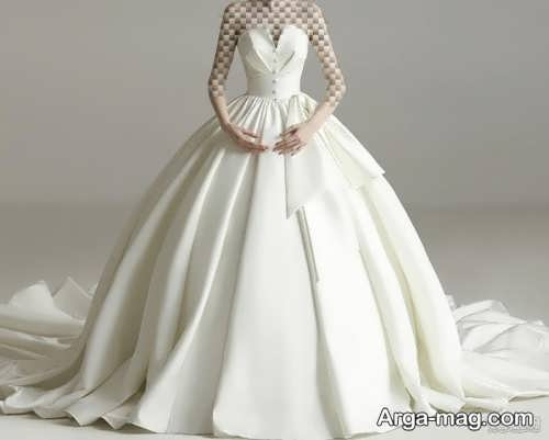 جدیدترین لباس عروس ساتن